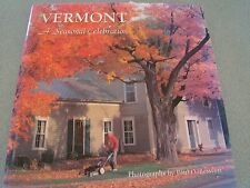 VERMONT SEASONAL CELEBRATION PAUL BOISVERT FIRST EDITION UNDATED HC DJ