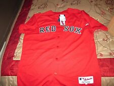 MLB Majestic Boston Red Sox Authentic Jersey Sz 48  XL Made In US