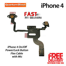 NEW Replacement iPhone 4 4G Power/Lock Button/Switch Flex Cable with Mic Repair