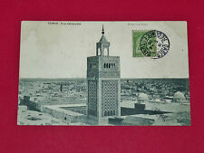 CPA CARTE POSTALE 1906 COLONIES FRANCE TUNISIE MAGHREB TUNIS VUE GENERALE