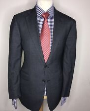 CHARLES TYRWHITT JERMYN ST Londres luxe costume classique gris anthracite FIT 42 x 36 x 32