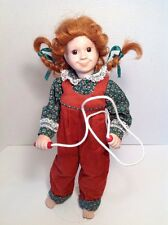 Signed Linda Mason Pepper! Sugar N Spice Collection 1991 Doll Pippi Longstocking