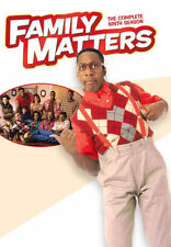 PRE ORDER: FAMILY MATTERS: THE COMPLETE NINTH SEASON - DVD - Region Free