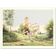 """William Nelson - """"Flight From a Towering Nest"""" Limited Edition Serigraph"""