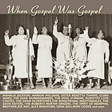 When Gospel Was Gospel (2005, CD NEUF)