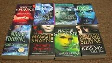 MAGGIE SHAYNE  8 BOOKS, EDGE OF TWILGHT, KISS ME, KILL ME, BLOODLINE, PRINCE OF