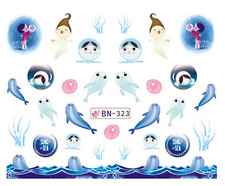 New Manicure Tips For Nail Art Decoration Water Transfer Decals BN323