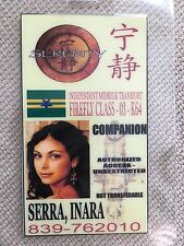 Serenity/Firefly ID Badge- COMPANION INARA SERRA