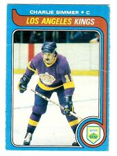 1X CHARLIE SIMMER 1979-80 OPC #191 RC Rookie VGEX O Pee Chee Lots Available