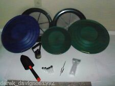 Blue/Green Deluxe Gold Classifier & Gold Pan Panning Kit