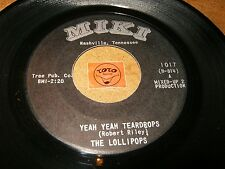 THE LOLLIPOPS - YEAH YEAH TEARDROPS - I'M SO   / LISTEN - GIRL GROUP POPCORN