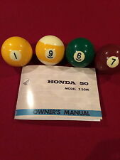 1967 Honda Z50M Owners Manual Z50 CT70 XR75 XL70 Z50J ZB50  VERY NICE