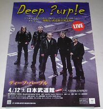 DEEP PURPLE rare JAPAN PROMO ONLY 2014 tour CONCERT POSTER more DP listed