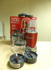 Nutribullet Blender Nutrition Extractor Set Red Special Offer £44.99