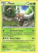 POKEMON CARD XY BREAK THROUGH - PINSIR 3/162