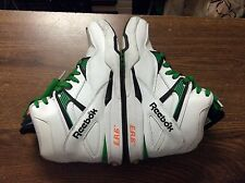 Reebok Pump Omni Zone Green & White Mens Size 7.5