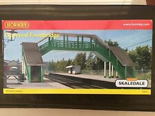 HORNBY R9731 00 GAUGE COVERED FOOTBRIDGE SKALEDALE BRAND NEW AND BOXED