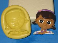 Doc McStuffins 2D Push Mold Candy Making Silicone Cake Pop Topper Resin  A225
