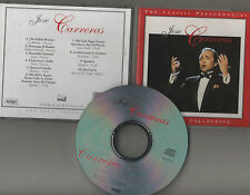 JOSE CARRERAS ~THE SOLO COLLECTION~ The Classic Performances CD