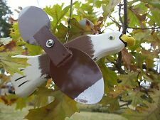 Eagle Mini Whirligigs Whirligig Windmill Yard Art Hand made from wood