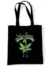 MARY JANE CANNABIS SHOULDER BAG - Marijuana Bong Spliff Weed Ganja Shopping