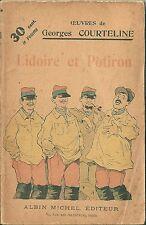 Lidoire et Potiron Courteline Bombled Albert Guillaume Barrère Sta Armée 1910