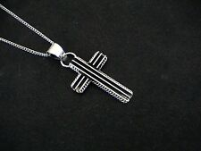 Auth.Native American Indian Navajo Sterling Silver Cross Pendant/Darrell Yazzie
