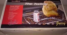 The Twiins Beer can chicken Sports Grill Model BCH-2
