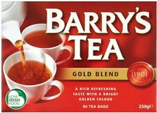 BARRY'S Gold Blend IRISH Tea bags  80  Worldwide from Britain UK