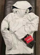 NWTs Arc'teryx Women's Andessa Down Gore-Tex Ski Jacket. Medium. Chamisa. ($849)