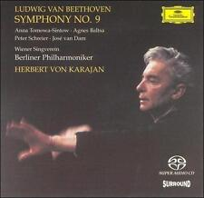 "Beethoven: Symphony No. 9 ""Choral"" Super Audio Hybrid CD (SACD, Apr-2003,"