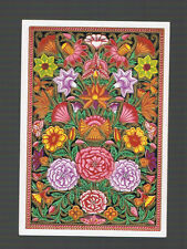 Playing  Cards 1  ANTIQUE  SQ  CORNER A CARPET OF  FLOWER  DESIGNS   SQ31