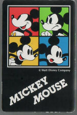 Playing Swap Cards 1 Japanese Disney Mickey Mouse 1990's J93