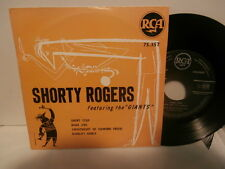 """shorty rogers and his orch/the giants""""diablo's dance""""ep7""""or.fr.1953rca area75357"""