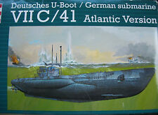 Revell 05045 1:72 DEUTSCHES U-BOOT VII C 41 WWII Atlantic Version L=93,4cm NEU