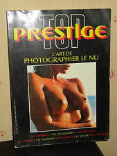 L'ART DE PHOTOGRAPHIER LE NU - TOP PRESTIGE - 1984 - PHOTOGRAPHIES COULEURS