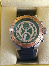 INVICTA 14095: 48MM MEN'S PRO DIVER TOURING ED.,GREEN/ROSEGOLD, QUARTZ. RARE!!!