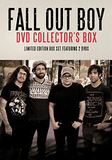 FALL OUT BOY New Sealed 2016 COMPLETE HISTORY & BIOGRAPHY 2 DVD BOXSET