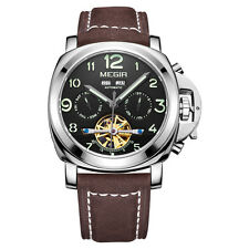 MARINA MILITARY TOURBILLON MILITARE BIG PILOT AVIATOR CHRONOGRAPH LEATHER  Watch