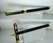 Aurora fountain pen - Magellano - penna stilografica black matte