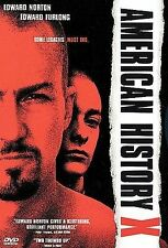 American History X DVD Movie Edward Norton Action Racist Cult Classic Nazi