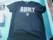"WOMEN'S TEE SHIRT ""ARMY MOTHER'S PRIDE"" BLK NEW NEVER WORN MARKED 2XL BUT SMALL"
