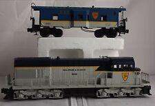Lionel O Locomotive train 8050 U36C D&H Diesel Delaware Hudson 9355 bay Caboose