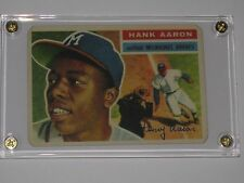 1956 TOPPS HANK AARON #31  AWESOME CARD
