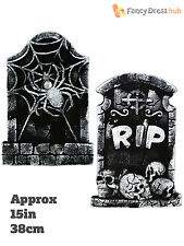 Halloween Tombstone Gravestone Decoration Graveyard Outdoor Party Prop