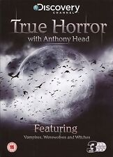 TRUE HORROR WITH ANTHONY HEAD - 3 DVD BOX SET - VAMPIRES, WEREWOLVES & WITCHES