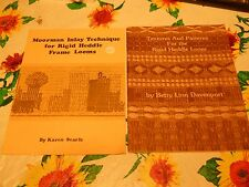 BETTY DAVENPORT Textures & Patterns for Rigid Heddle Loom + KAREN SEARLE MOORMAN
