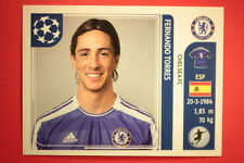 PANINI CHAMPIONS LEAGUE 2011/12 N. 293 TORRES CHELSEA WITH BACK BACK MINT!!