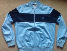 Vintage Original adidas Tracksuit Jacket Retro 80s Made In England ! Rare