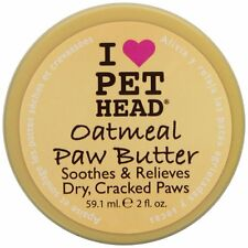 Pet Head Oatmeal Natural Paw Butter, 2-Ounce for Dogs and Cats Grooming